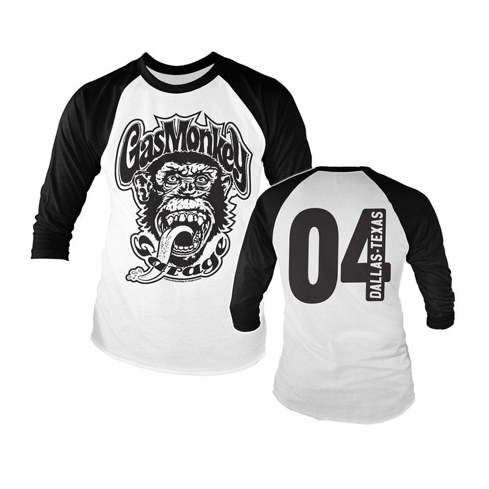 Sélection d'articles Gas Monkey en promotion - Ex : T-shirt Gas Monkey Garage Dallas Texas 04 pour Homme