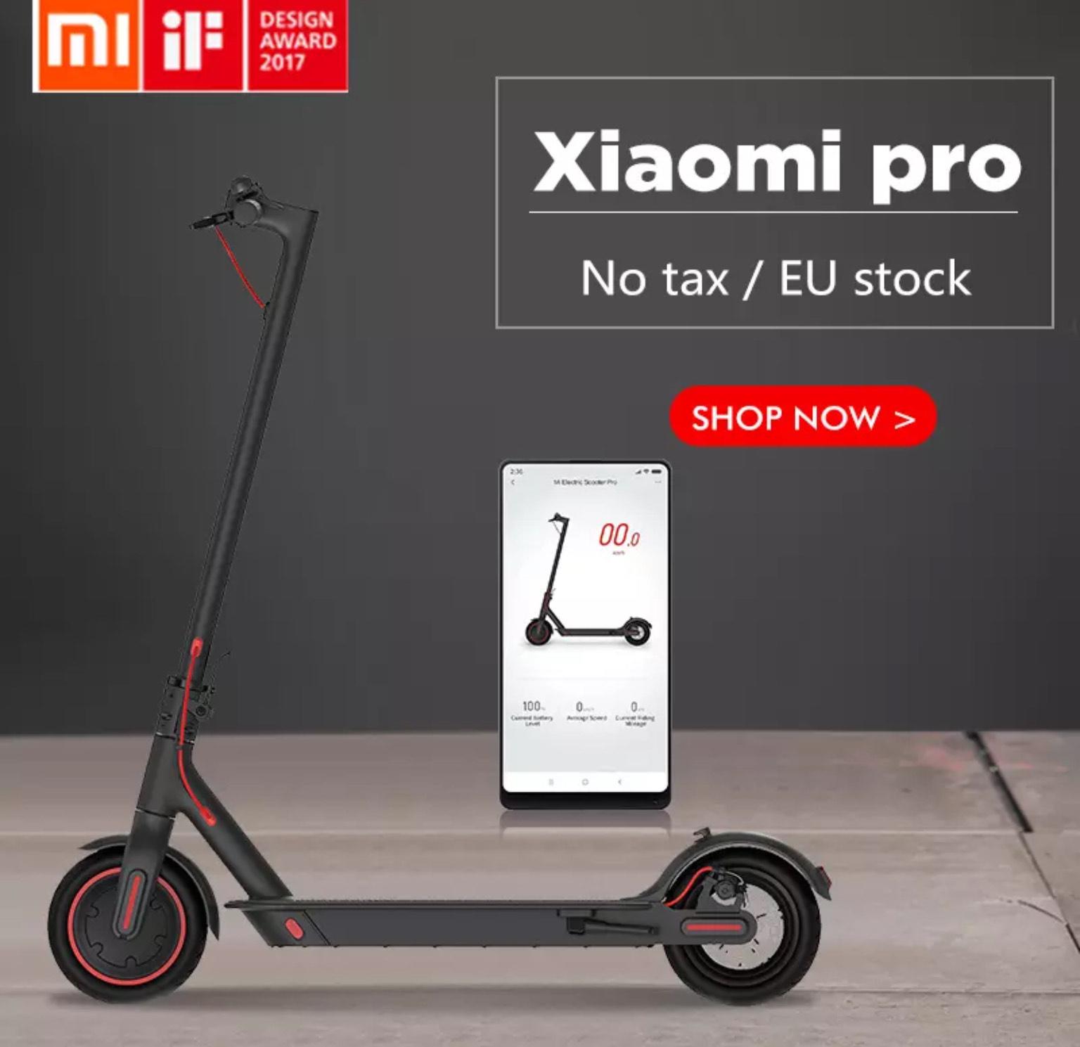 Trottinette électrique Xiaomi M365 Pro