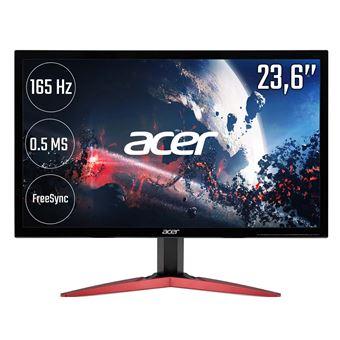 "Écran PC 23.6"" Acer KG241QSbiip - Full HD, Dalle TN, 165 Hz, 1 ms, FreeSync"