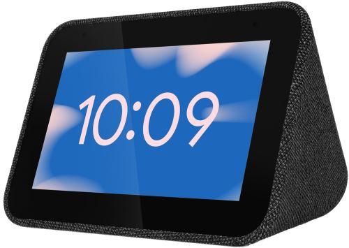 """Réveil connecté 4"""" Lenovo Smart Clock - Noir, Google Assistant (Via retrait magasin)"""