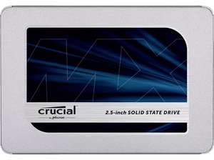 "SSD interne 2.5"" Crucial MX500 (TLC 3D, DRAM) - 1 To (Frontaliers Allemagne)"