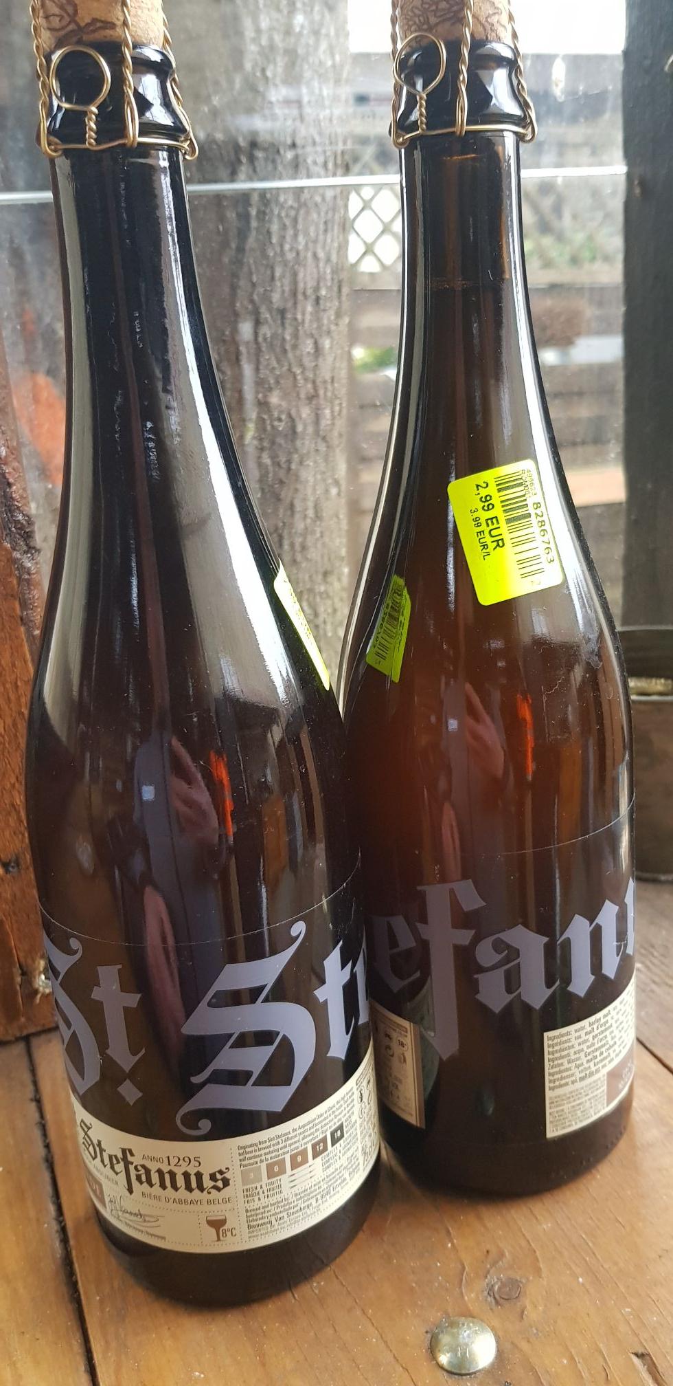 Bouteille de bière Saint Stefanus (75CL) - Coignieres (78)