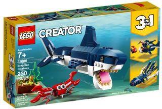 Jeu de construction Lego creator - Les créatures sous-marines n°31088 - Stokomani Basse-goulaine (44)