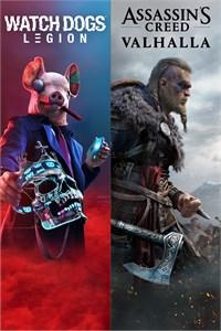 Bundle Assassin's Creed Valhalla + Watch Dogs: Legion sur Xbox One & Series X|S (Dématérialisés - Store Brésilien)