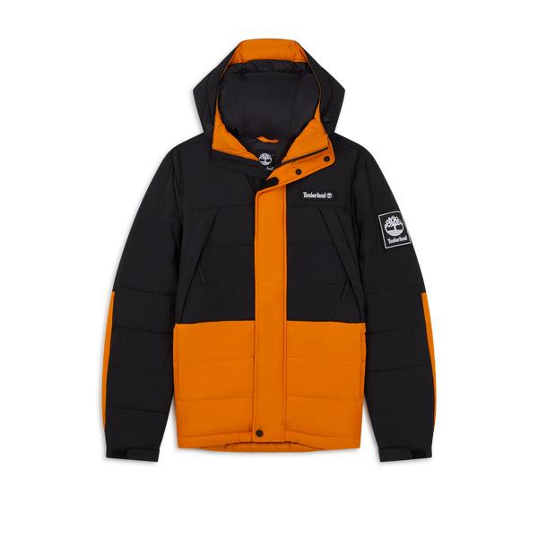Doudoune TIMBERLAND Outdoor Archive - Couleur Noir/Orange, Taille S à L