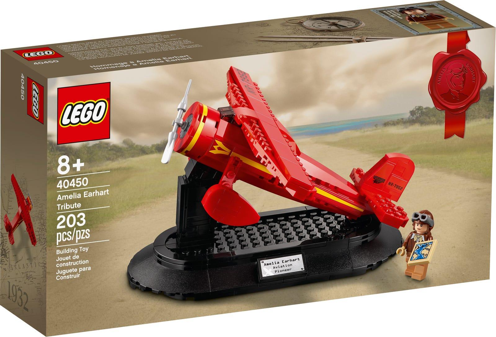 Jeu de construction Lego Hommage à Amelia Earhart (40450) offert dès 100€ d'achat