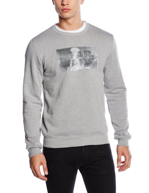Sweat-shirt Manches Longues Celio Star Wars pour Homme