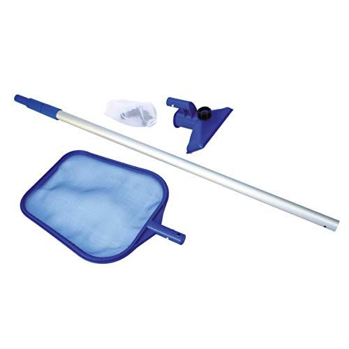 Kit entretien piscine Intex - Epuisette + manche téléscopique 239cm + balai venturi