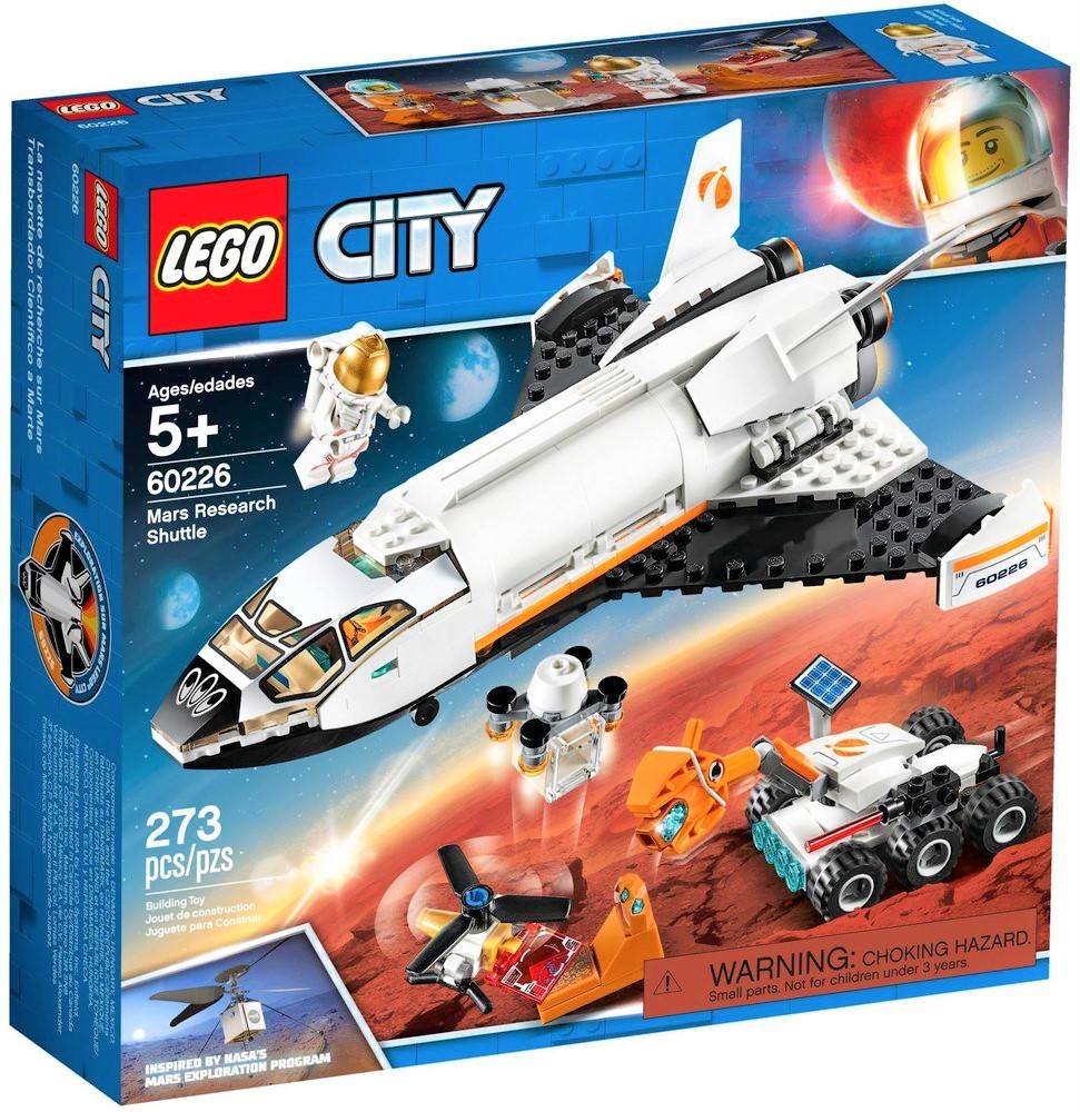 Jeu de construction Lego City 60226 - La navette spatiale (Via coupon)