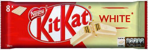 Lot de 16 barres de Kit-Kat - Chocolat blanc ou intense