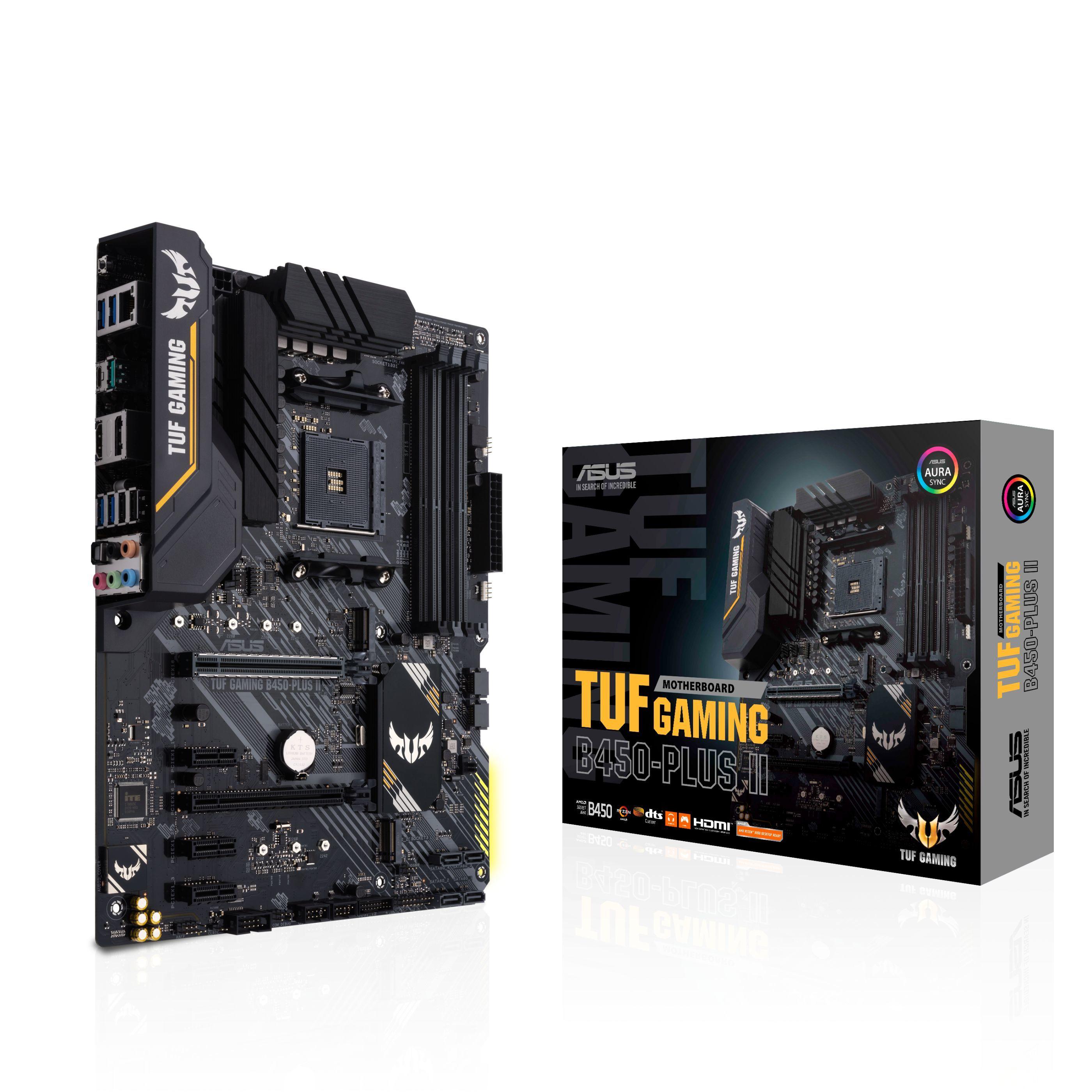 Carte mère Asus TUF B450-Plus Gaming II - Socket AM4