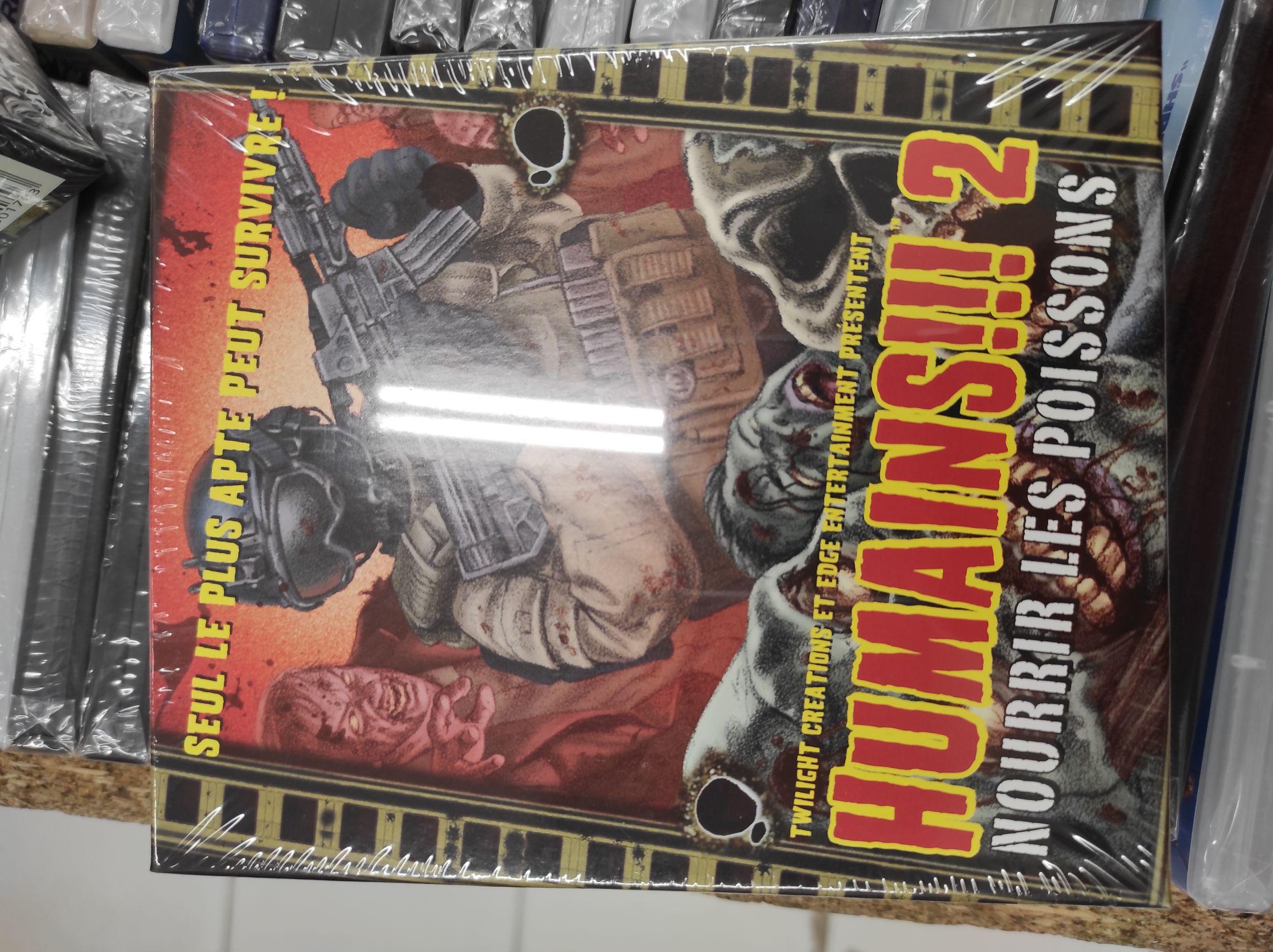 Extension pour les jeux de plateau Zombies!!! et Humains!!! - Quimperlé (29)