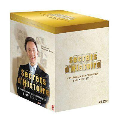 Coffret DVD : L'intégrale de Secrets d'Histoire