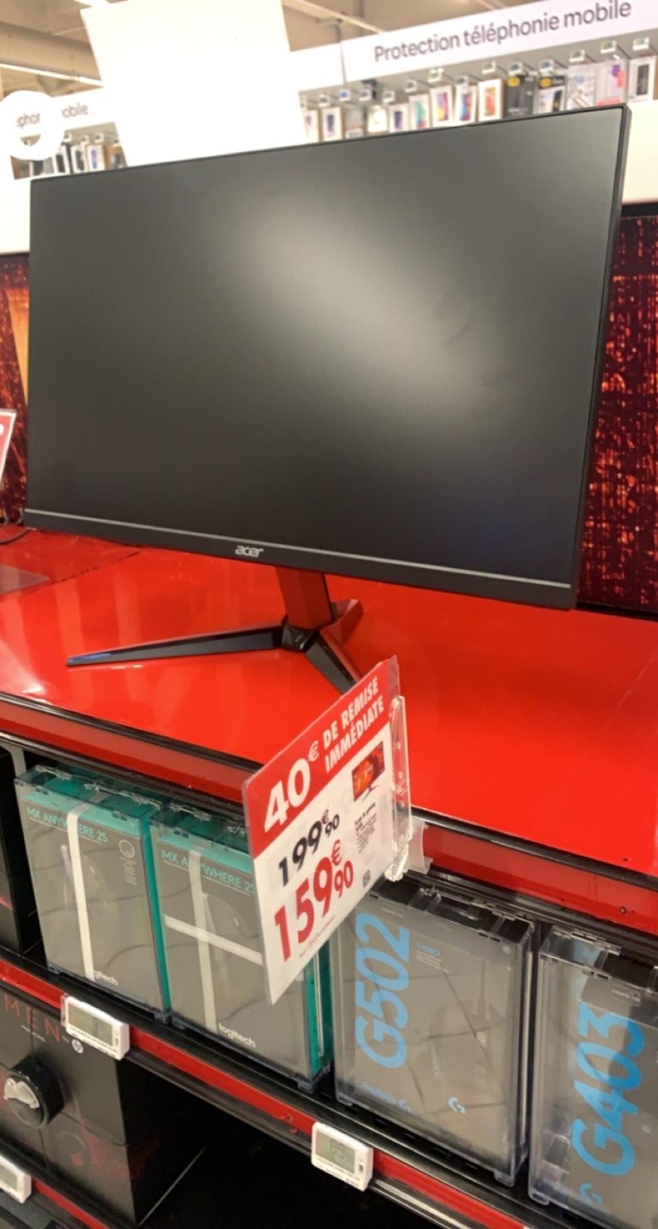 "Ecran PC 24"" Acer Nitro VG242YPbmiipx - Full HD, IPS, HDR, 165 Hz (Montigny-le-Bretonneux - 78)"