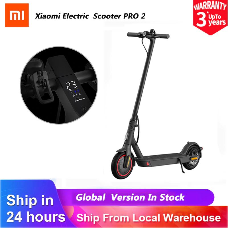 Trottinette électrique Xiaomi Mi Electric Scooter Pro 2 - 25 km/h, Autonomie 45 km, 12800 mAh (Entrepôt Espagne - 382€ via FRSPRING5)