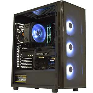 Tour PC Fixe Replicant - i5-9600KF, 16 Go RAM, 480 Go SSD + 1 To HDD, RTX 3070, Sans OS