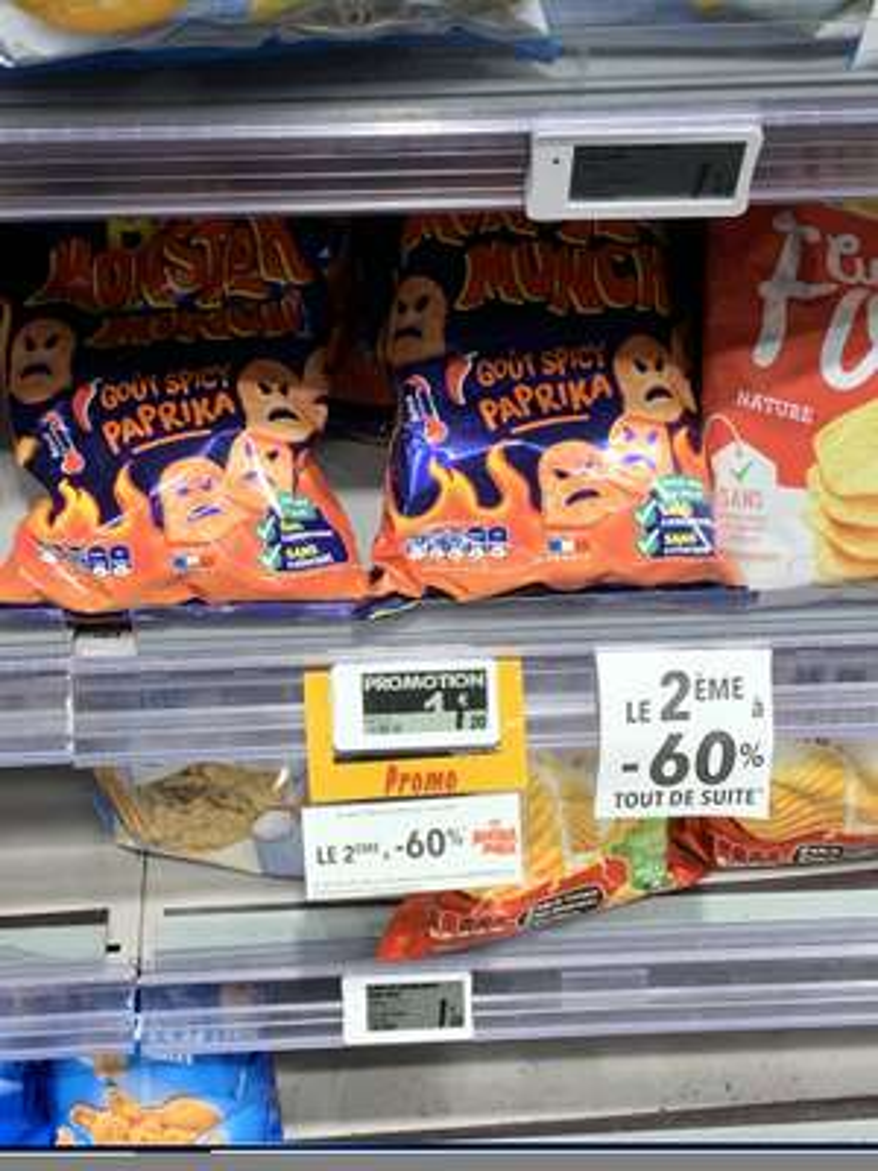 2 Paquets de Monster munch - Franprix Paris (75)