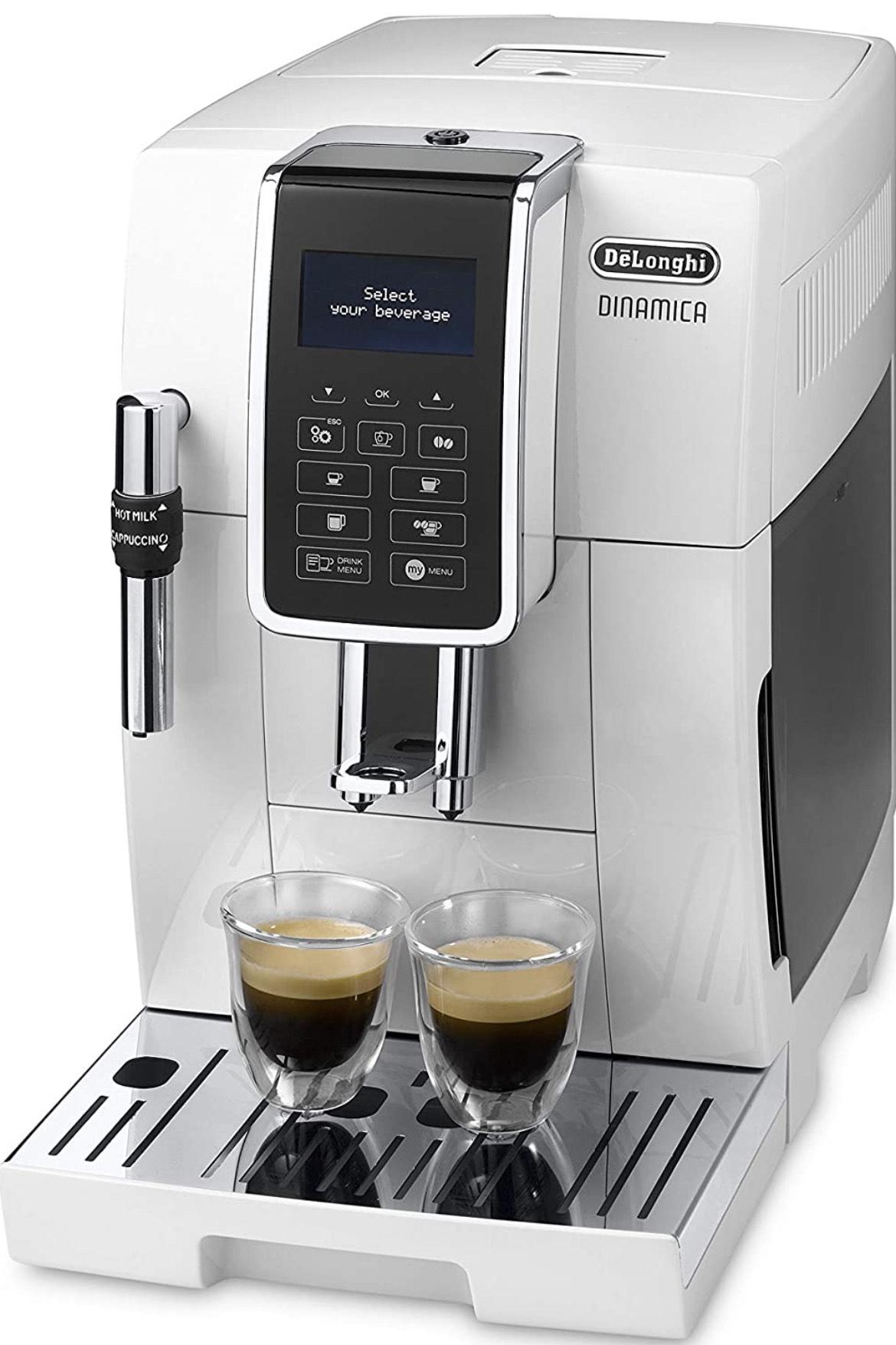 Machine expresso avec broyeur De'Longhi Dinamica Ecam 350.35