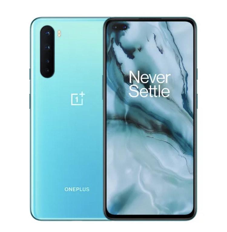 "Smartphone 6.44"" Oneplus Nord AC2001 - Full HD+ 90 Hz, 12 Go RAM, 256 Go, bleu (+11,37€ en Rakuten Points - 368€ avec RAKUTEN10)"