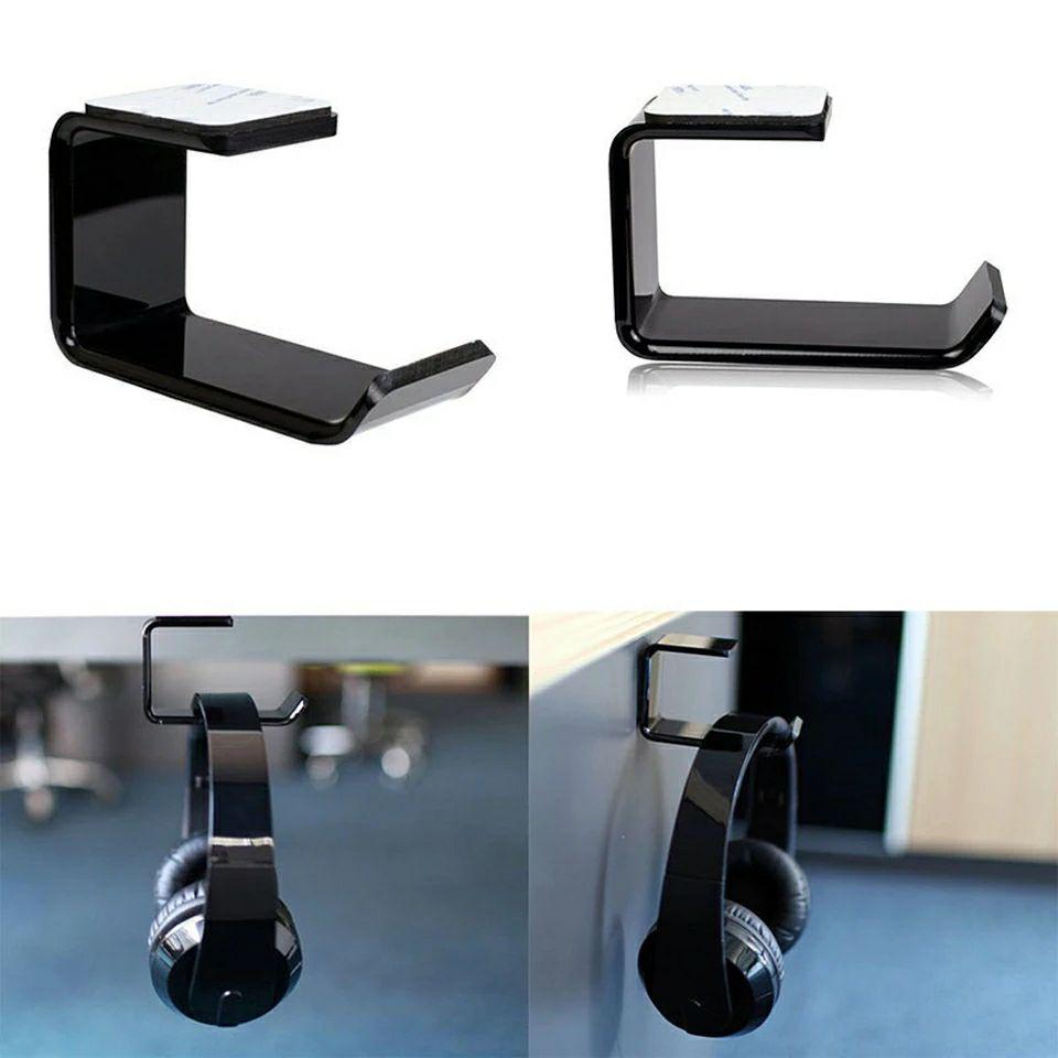 Support de casque audio autocollant en acrylique