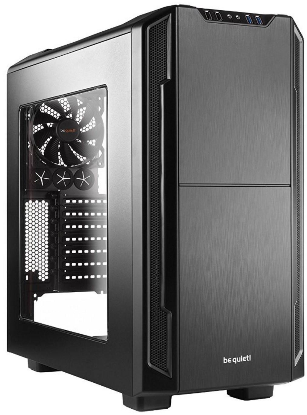 Boitier PC Be quiet! Silent Base 600 - avec fenetre, moyen tour