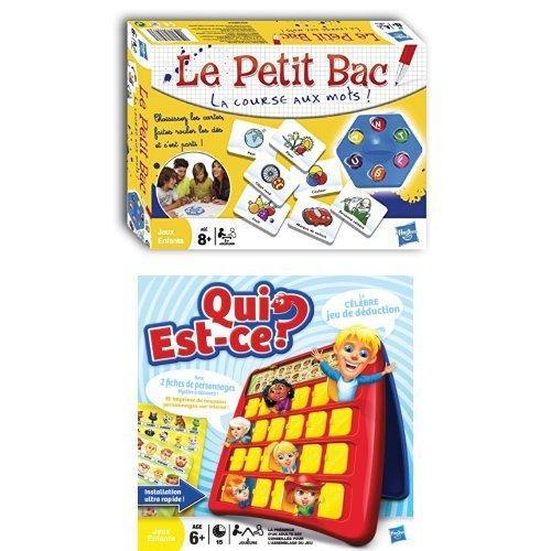 Jeux de Société Le Petic Bac + Qui-est-ce?