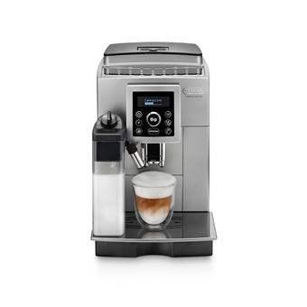 Machine à café Expresso avec broyeur Delonghi ECAM23.460.SB - 1450 W, Gris