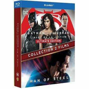 Coffret Blu-ray Batman V Superman + Man of Steel