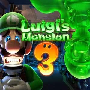 Sélection de jeux en promotion sur Nintendo Switch (dématérialisé - eShop US) - Ex: Luigi's Mansion 3