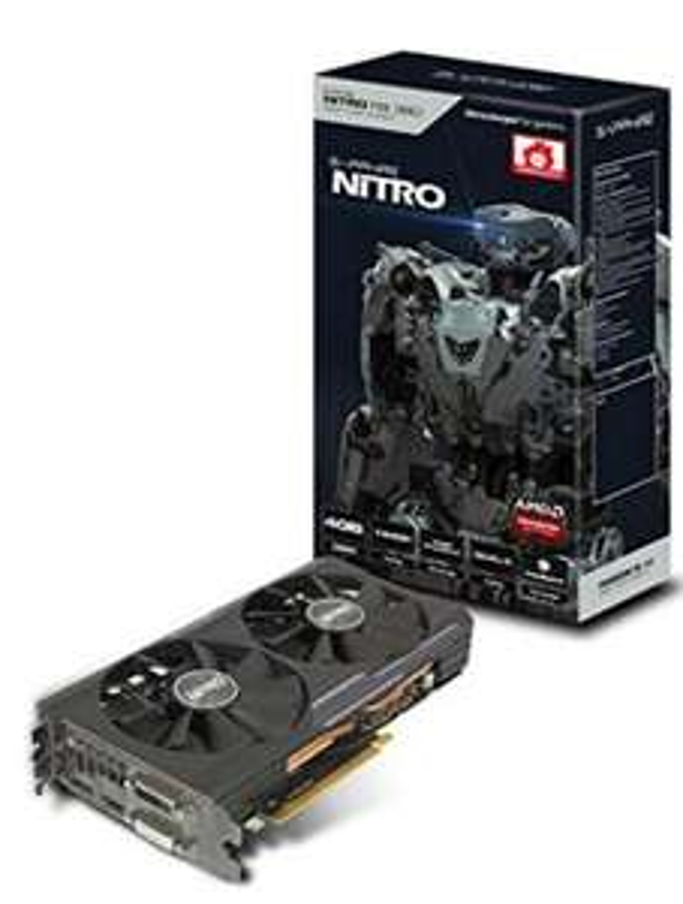 Carte graphique Sapphire Nitro ATI R9 380 - 1010 MHz, 4 Go, PCI Express