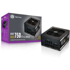 Alimentation PC modulaire Cooler Master MWE Gold 750 V2 - 750W, 80 Plus GOLD