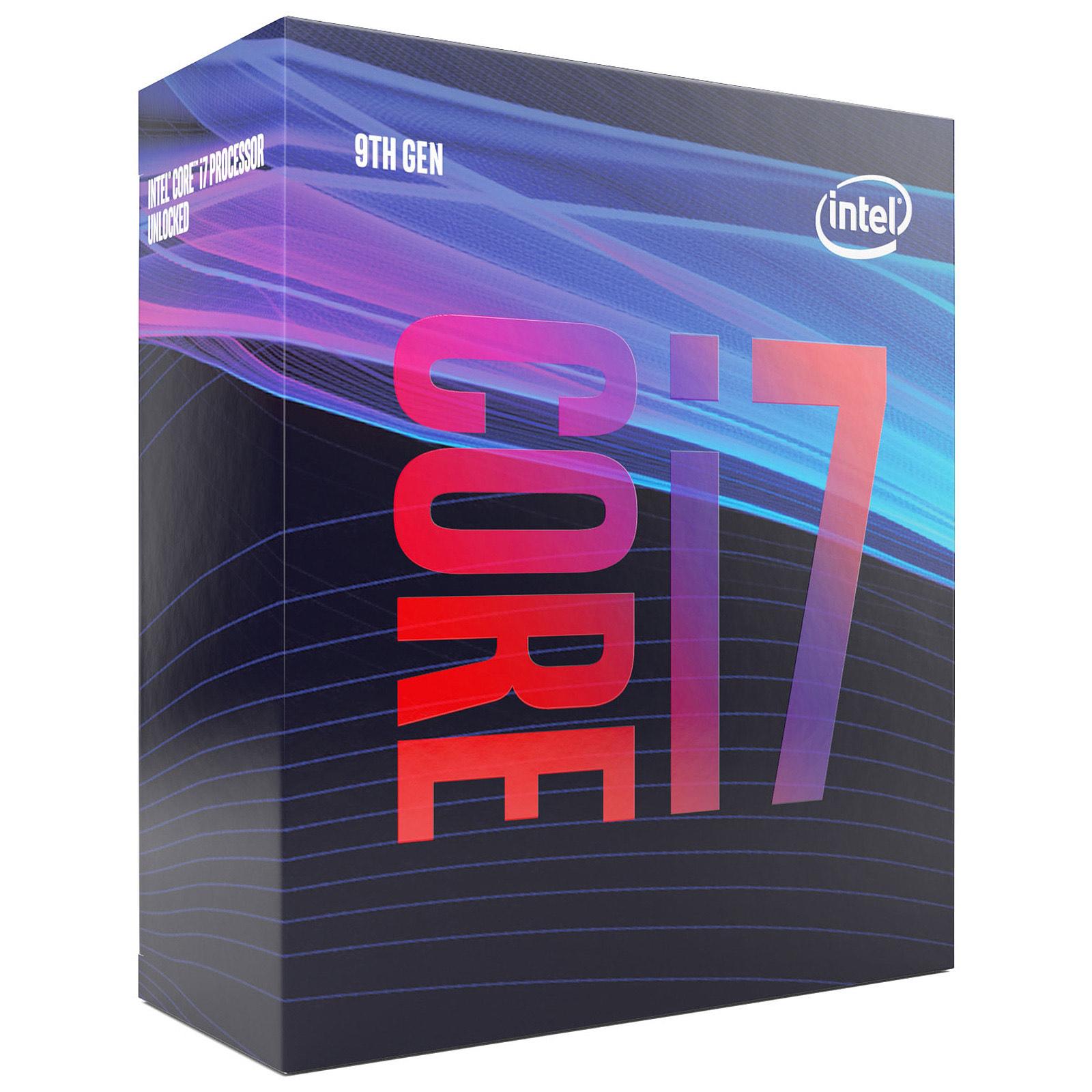 Processeur Intel Core I7 9700 (3.0 GHz / 4.7 GHz) (Frontaliers Suisse)