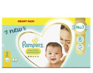 Pack de couches Pampers Premium Protection
