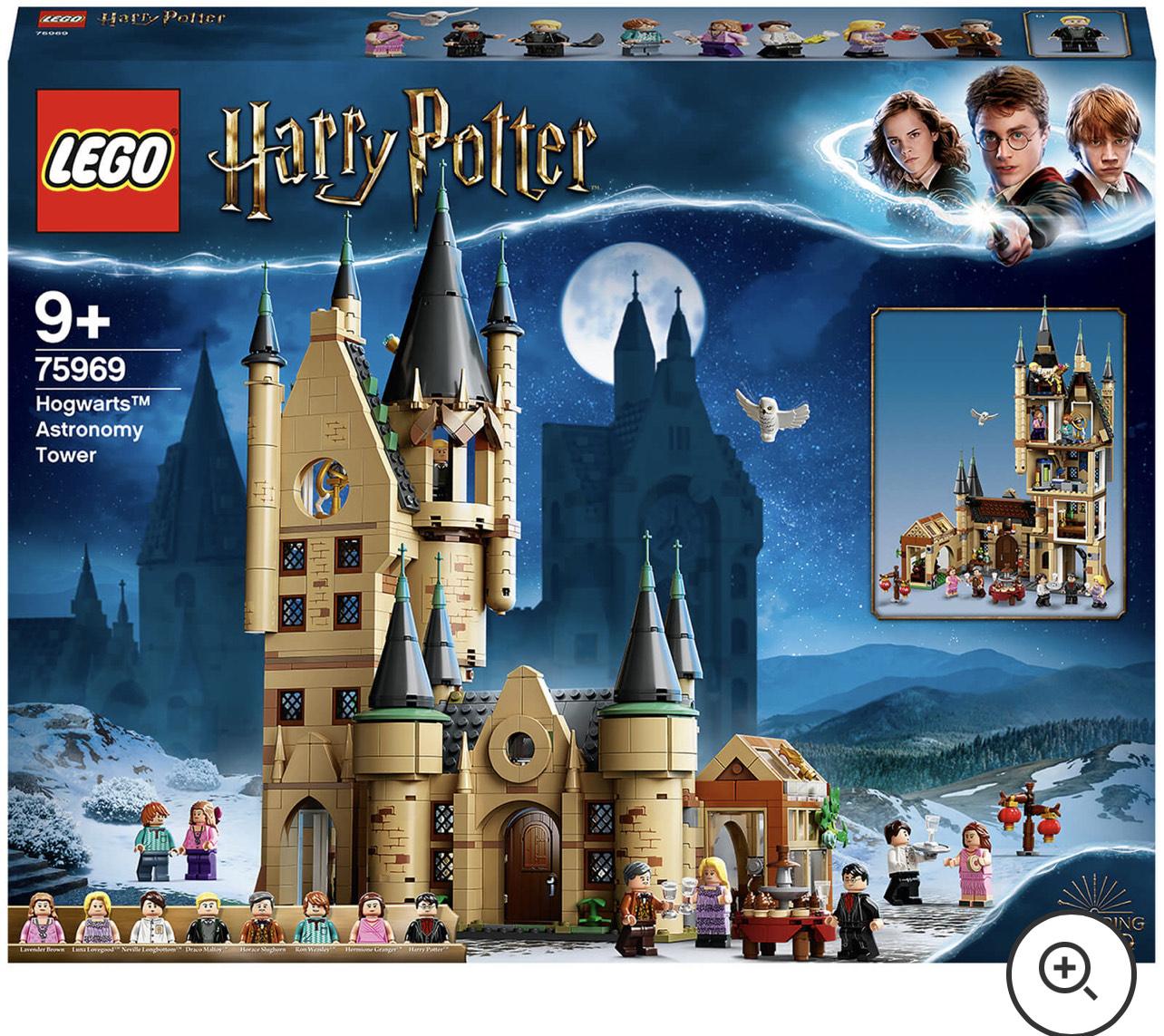 Jouet Lego Harry Potter 75969 - La tour d'astronomie de Poudlard