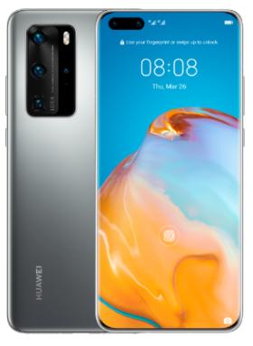 """Smartphone 6.58"""" Huawei P40 Pro - 5G, 8 Go RAM, 256 Go, Noir, Sans services Google (Frontaliers Suisse)"""