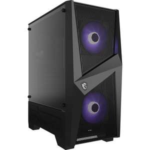 Boîtier PC MSI MAG Forge 100M RGB - ATX, Noir