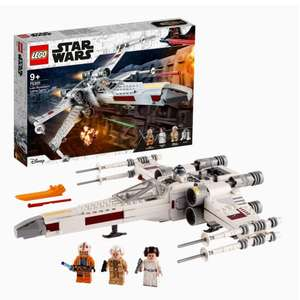Jeu de construction Lego Star Wars - Le X-Wing Fighter de Luke (75301)