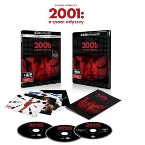 Sélection de Blu-ray 4K UHD en promotion - Ex : 2001 l'Odyssée de l'Espace - Édition Spéciale