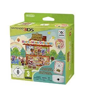 Animal Crossing : Happy Home Designer + Carte Amiibo + Lecteur NFC  sur 3DS