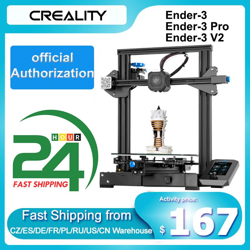 Imprimante 3D Creality Ender 3 V2 - entrepôt France (192.98€ via AEF3807)
