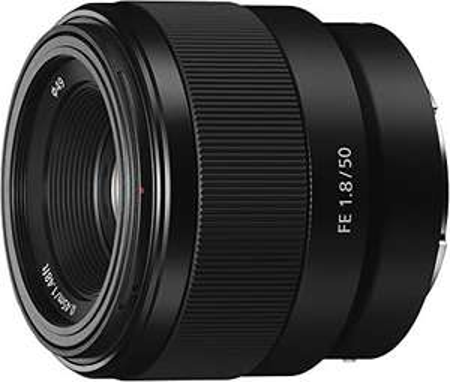 Objectif Sony SEL 50-F18F 50 mm Ouverture F1.8 - Monture Sony E