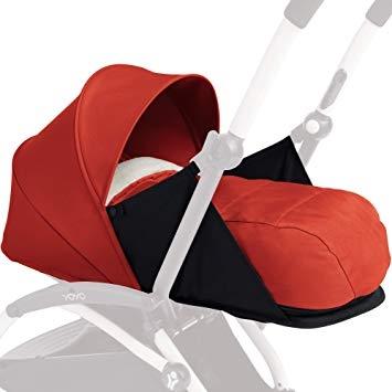 Set d'habillage textile pour poussette Babyzen Yoyo+ 0+ Newborn-Set (rouge) - Ecoterre.eu