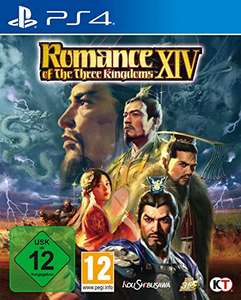 Romance of the Three Kingdoms XIV sur PS4 (boîtier DE, vendeur tiers)