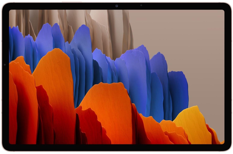 "Tablette tactile 11"" Samsung Galaxy Tab S7 - WQHD+, SnapDragon 865+, 6 Go de RAM, 128 Go, coloris Mystic Bronze (+ 16.8€ en Rakuten Points)"