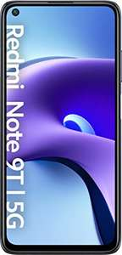 "Smartphone 6.53"" Xiaomi Redmi Note 9T 5G - full HD+, Dimensity 800U, 4 Go de RAM, 64 Go, noir ou violet"