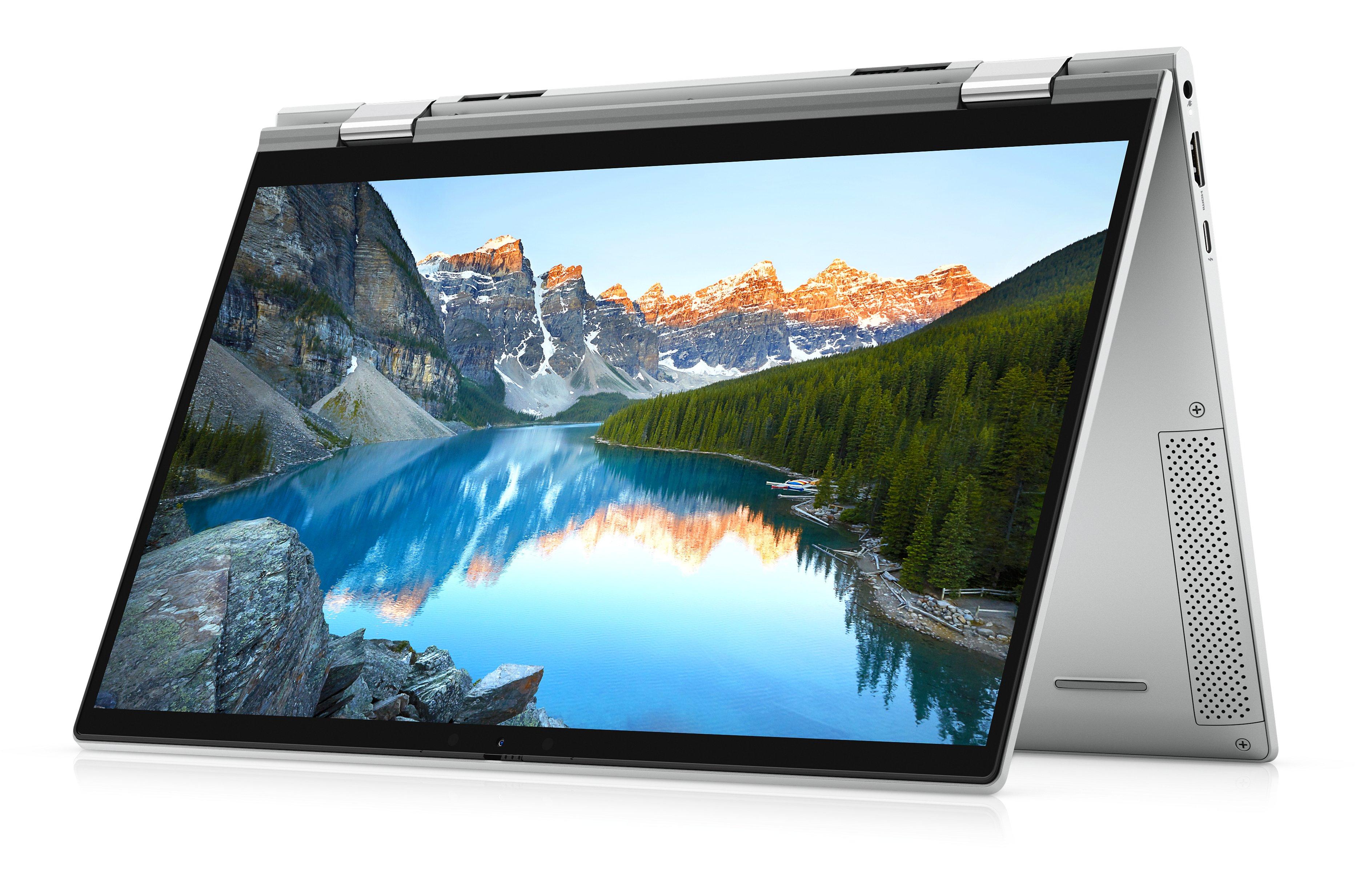 """PC Portable 2-en-1 13,3"""" Dell Inspiron 13 7306 - Full HD Tactile, i7-1165G7, Iris Xe, RAM 16 Go (4 267 MHz), SSD NVMe 512 Go, Windows 10"""