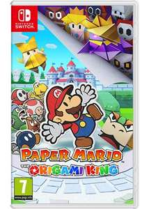 Jeu Paper Mario : The Origami King sur Switch