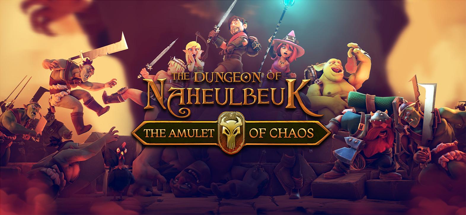 Le Donjon de Naheulbeuk : L'amulette du Désordre sur PC (Dématérialisé - Store RU via VPN)