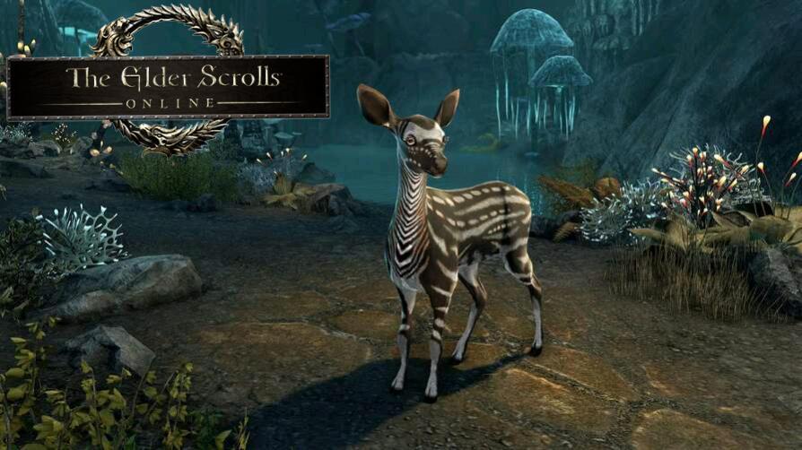 Animal Ambersheen Vale Fawn gratuit pour The Elder Scrolls Online sur PC, Mac & Consoles (Dématérialisé)