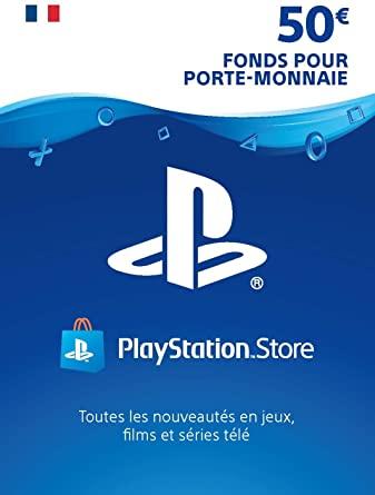 Carte PlayStation Network de 50€ pour 43.21€ (dématérialisée)